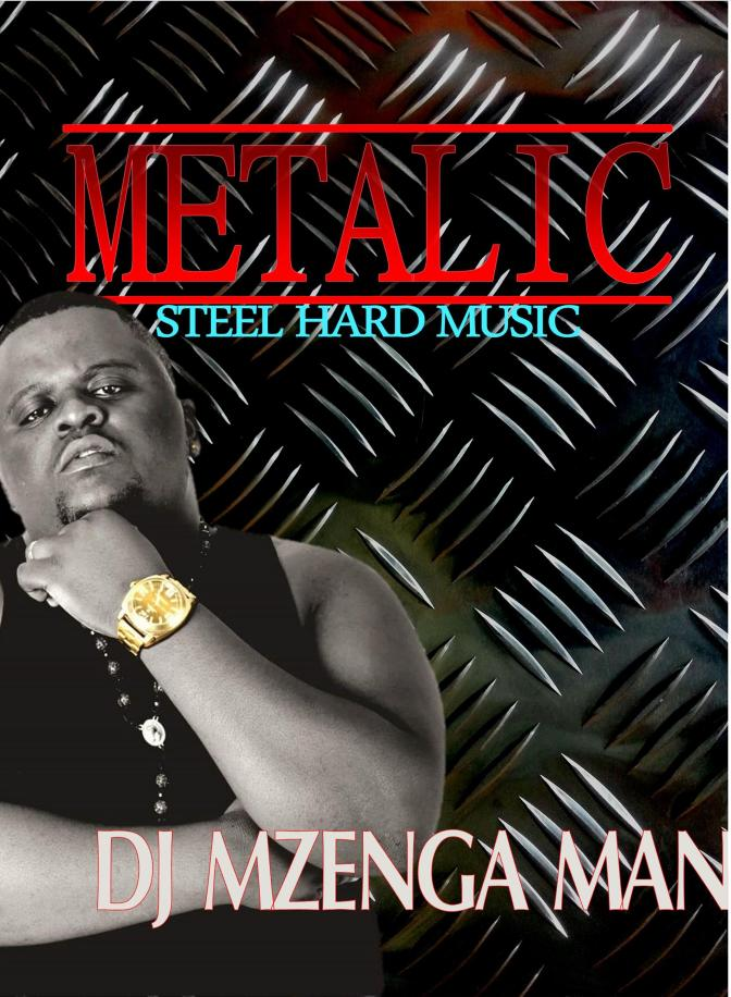 DJ Mzenga man on metalic
