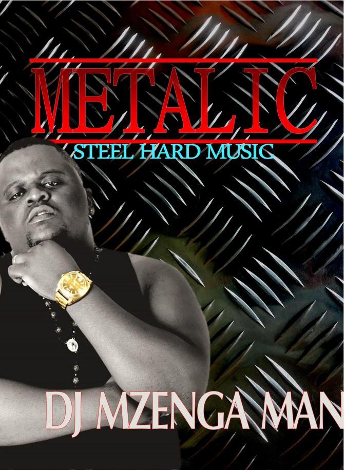 DJ Mzenga man on metalic