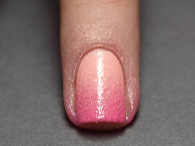 #DIY with lyness: SPONGE OMBRE NAILS