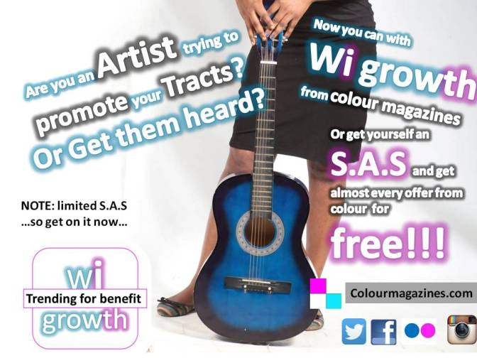 New off the Wi-Growth…Promoting Artists
