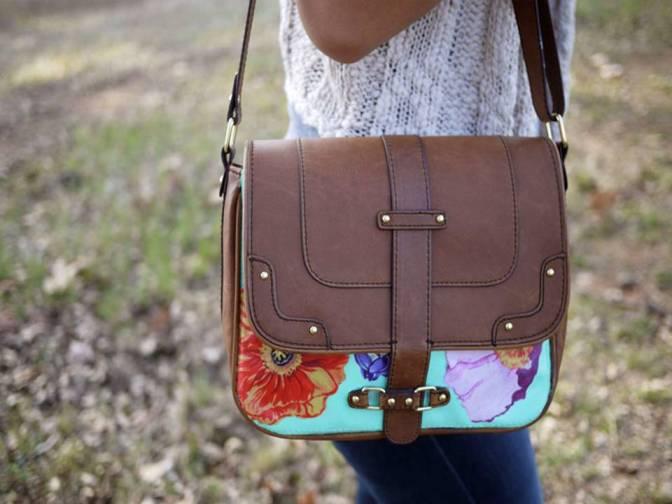 #DIY3 :COLOURED FLORAL BAG