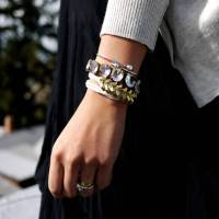 DIY with Lyness Luo :BRAIDED HEX NUT BRACELET