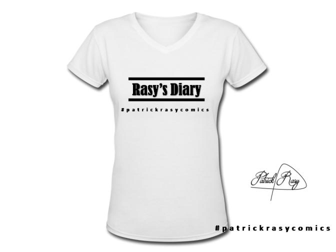 RASY'S DIARY T- SHIRTS